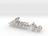 Alexa Earrings 50mm 3d printed