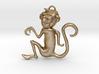 Monkey Eastern Zodiac Pendant 3d printed