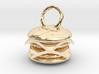 Cheeseburger pendant 3d printed