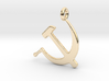 Hammer and Sickle USSR 3d printed