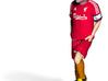 Liverpool football player 3d printed