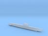 Zulu-class submarine, Full Hull, 1/2400 3d printed