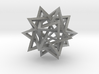 Five Intersecting Tetrahedrons Assembly 3d printed