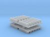 PTC Short Dual Track Antenna (HO - 1:87) 24X 3d printed
