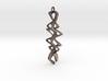 Twisty Pendant 3d printed