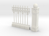 Iron Fence 4+1 cm 3d printed