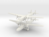 Handley Page H.P.54 Harrow and Sparrow 1/285 6 mm 3d printed