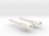 Two-Piece Battlestaff 3d printed