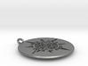 Maya Sun Necklace 3d printed