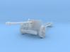 1/220 z-scale Pak40 anti tank gun 3d printed