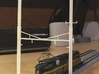 CATENARY PRR 2 TRACK 2PHASE N SCALE  3d printed