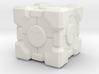 """Weighted Portal Cube - Heart - 1"""" (100% Accurate) 3d printed"""