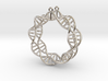 Earring DNA 3d printed