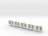 JConcepts - BF | KC 5 light bar set - base  3d printed