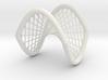 Hyperbolic Paraboloid Ruled 3d printed