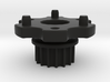 M3R16 Front Pulley-Spur Mount 3d printed