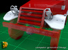 M5 Halftrack conversion with M5A1 Lights 3d printed M5 with M5A1 lights - front vehicle
