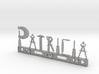 Patricia Nametag 3d printed