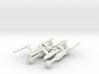 Invader Advanced Frigate 4 Sprue 3d printed