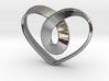 Heart Mobius Strip 3d printed