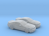 1/120 2X 2006-10 Ford Mustang Shelby 3d printed