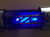 RAW - Graflex 2.0 Saber Crystal 3d printed Crystal Chamber w/ Frosted Ultra Detail