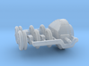 Conversion Set for 1:100 model Rolls armoured car 3d printed