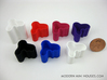 Modern Vase 1:12 scale 3d printed Polished Strong & Flexible in variety of colors