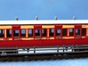 4mm scale LBER All Third or Composite Carriage 3d printed