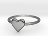 Heart-ring-solid-size-12 3d printed