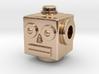 Reversible retro robot head pendant 3d printed