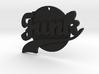 Funk Pendant 3d printed
