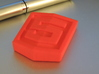 Html5 Logo 3d printed Html5 Logo - Red