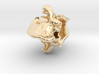 Hyena pendant 3d printed