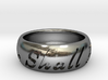 This Too Shall Pass ring size 12 3d printed