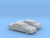 1/160 2X  1991 Cadillac Fleetwood Coupe 3d printed