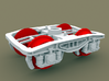 TT Scale Y25 Type Chassis 2pcs (EU) 3d printed Y25 Type Chassis (wheelsets not included)