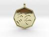 kizuna (Bonds) pendant 3d printed