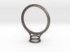 Bezel Ring- Circular 3d printed