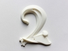 Art Nouveau House Number: 2 3d printed