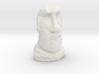N Gauge Moai Head (Easter Island head) 3d printed