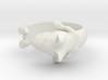 Bull Terrier Dog ring 3d printed