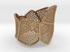 Double Voronoi Bracelet (v1) 3d printed