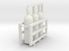 Welding & Gas High Pressure Cylinders In Rack 1-87 3d printed