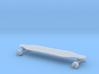 Mini Longboard 3d printed