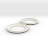45mm to 40mm Headphone Driver Adapter Ring 3d printed