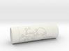 Customizable stamp Sakura Fuji hanko 3d printed