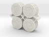 Star Wars Armada Command Tokens 3d printed