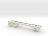 1/50th Single Axle Truck Frame  3d printed