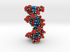 DNA double helix (unmodified) 1.6x 3d printed